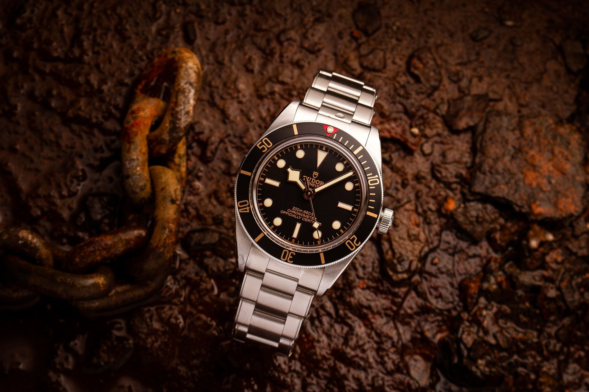 M79030n 0001 Tudor Black Bay Fifty Eight Black On Bracelet