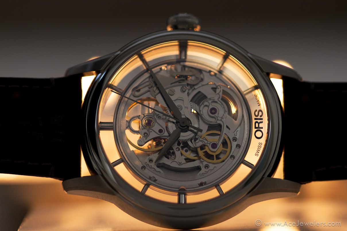 skeleton translucent watches new the artelier hires watchpaper rs oris presents