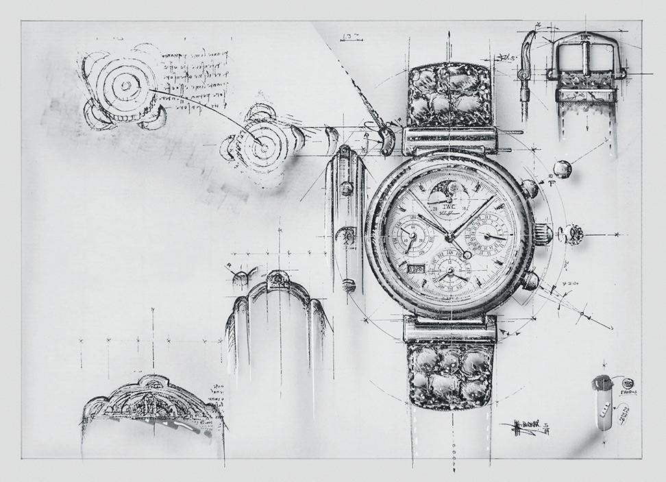 IWC Da Vinci Sketch