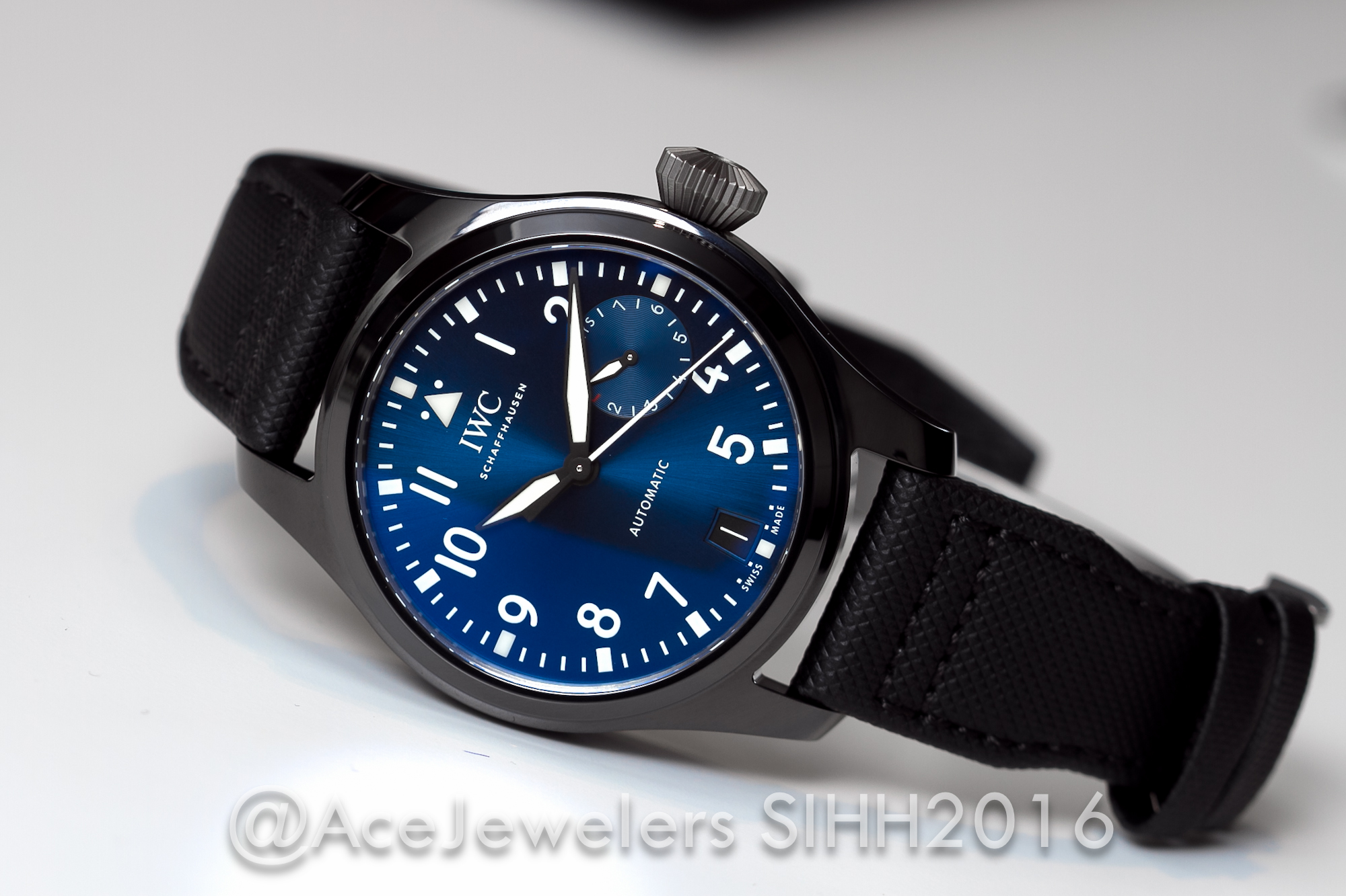 "SIHH2016: IWC Big Pilot's Watch Edition ""Boutique Rodeo Drive ..."