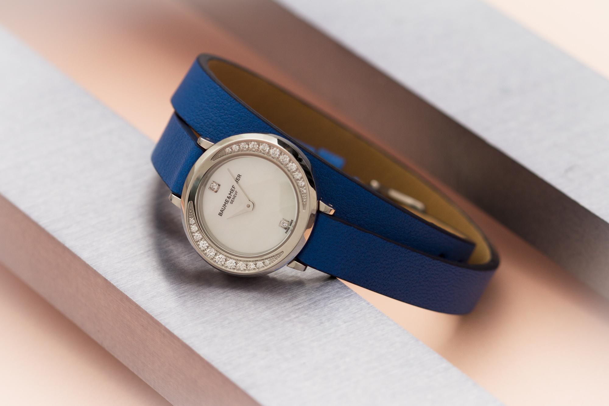 baume-et-mercier-petite-promesse-blue-strap-ace-jewelers-amsterdam-1