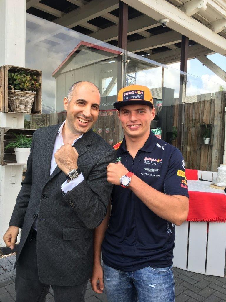 Max Verstappen & Alon Ben Joseph in 2017