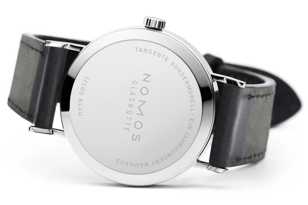 Nomos Tangente Bauhaus Limited Edition Back