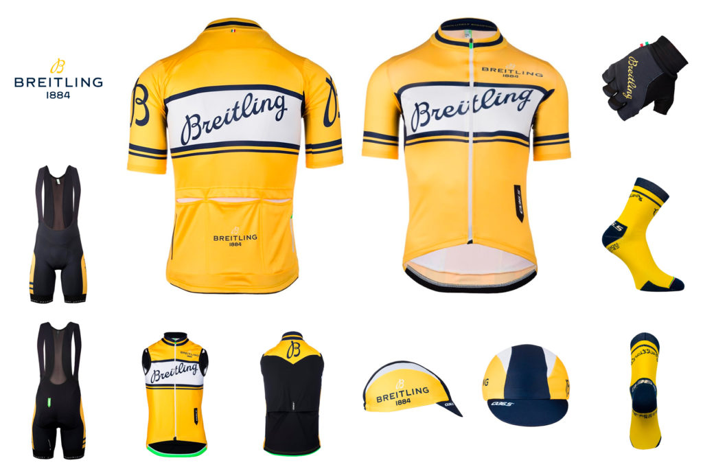 Breitling just introduced a full range of cycling kit made by Q36.5 42760a16e