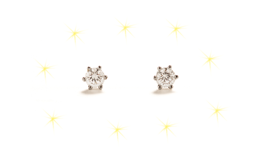 Ace diamond stud earrings shop Ace Jewelers Christmas gift ideas for her and for him
