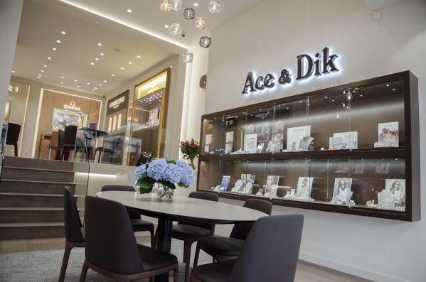 Ace & Dik Jewelers boutique interior